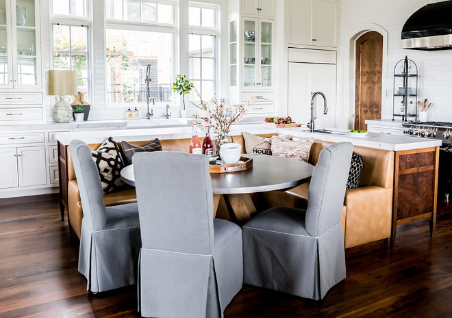 Kitchen island banquette. Kitchen island banquette layout. Kitchen island banquette. Kitchen island banquette #Kitchenislandbanquette #Kitchenisland banquette Hyrum McKay Bates Design, Inc.