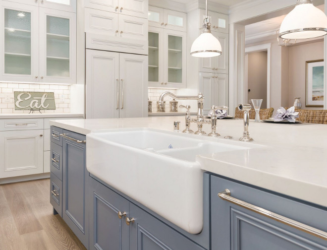 Newly Built Hamptons Style Home - Home Bunch Interior ... on Farmhouse Countertops  id=34311