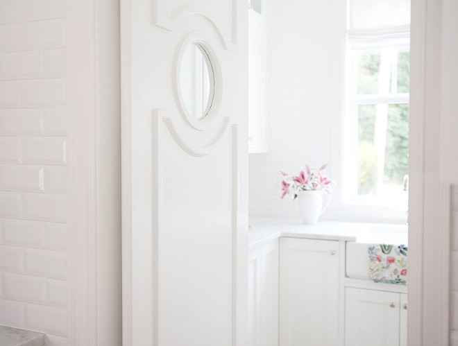 Kitchen pantry door. The pantry comes with a stunning swing door with window. Kitchen pantry door ideas. Custom Kitchen pantry door. Kitchen pantry door #Kitchen #pantry #door #Pantrydoor jshomedesign