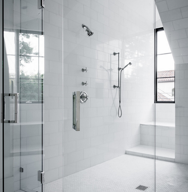 Large subway tile on Shower walls. Large subway tile. Large subway tile on Shower wall ideas #Largesubwaytile #Showerwalls Coats Homes