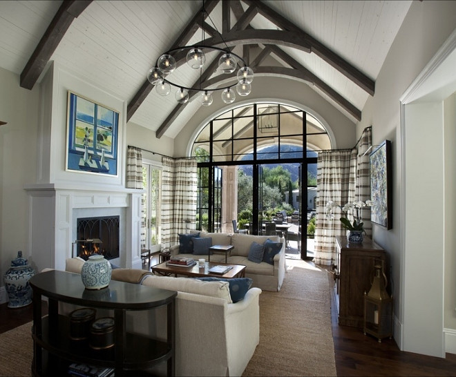 Living room cathedral ceiling. Living room cathedral ceiling and floor to ceiling windows. Living room cathedral ceiling #Livingroom #cathedralceiling #Livingroomcathedralceiling #cathedralceiling