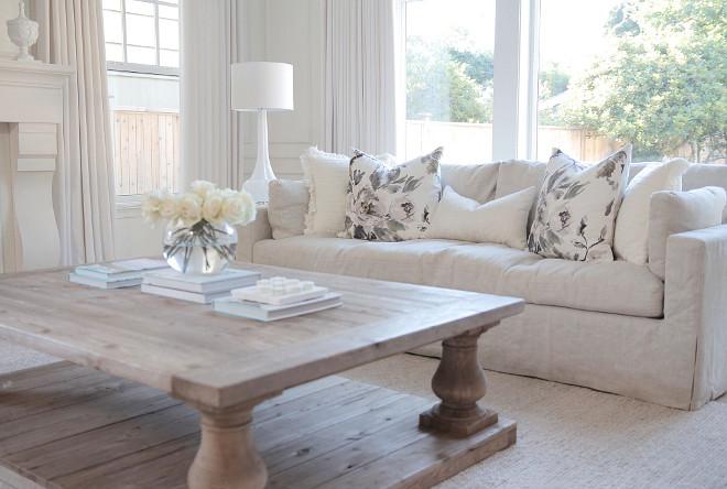 Living room sofa. Linen sofa. Living room linen sofa. Living room linen sofa is RH sofas- Belgian linen- sand. #Livingroom #linensofa #linen #sfa #RHsofas #Belgianlinen #colorsand jshomedesign