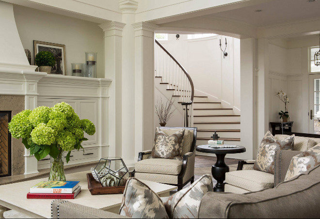 Living room. Staircase off living room. Living room. Staircase off living room. Living room wainscoting. Staircase off living room. Living room wainscoting #Staircaseofflivingroom #Livingroom #wainscoting #Livingroomwainscoting The Sitting Room