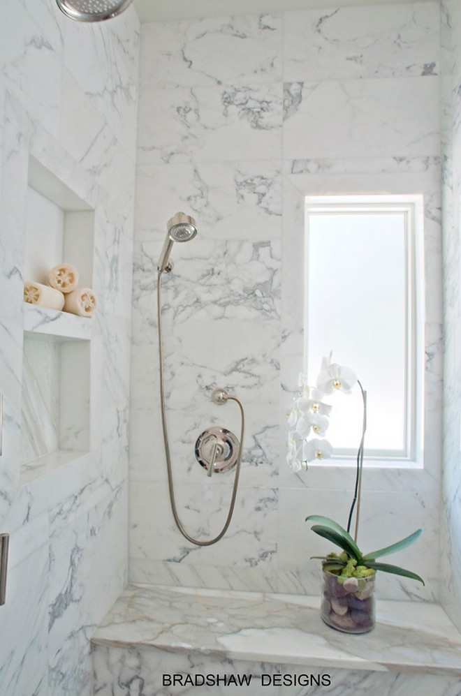 Marble shower. Marble shower size and layout. The marble shower is approx. 4 feet x 6 feet. Marble shower. Marble shower size and layout #Marbleshower #Marble #shower #Showersize #Showerlayout