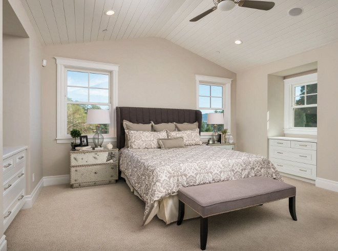Master Bedroom built-in. Master Bedroom built-ins. Master Bedroom built-in dresser in window nook. Great idea. Master Bedroom built-in dressers in window nook #MasterBedroom #builtindresser #builtin #nook