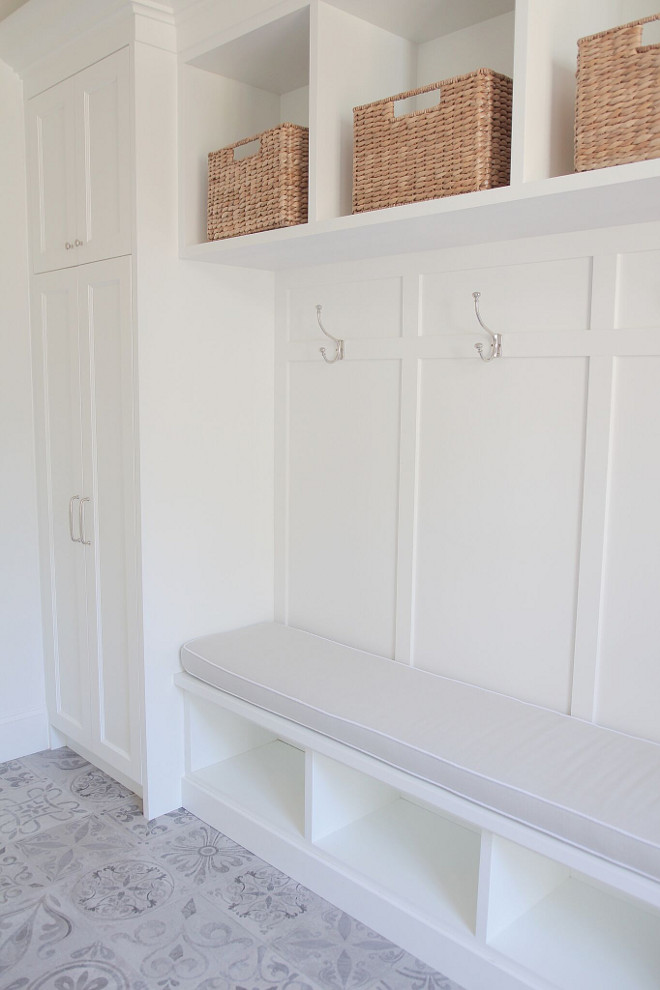 Mudroom bench and cubbies. Mudroom bench and cubbies. Mudroom combination of bench and cubbies. #Mudroom #bench #cubbies jshomedesign