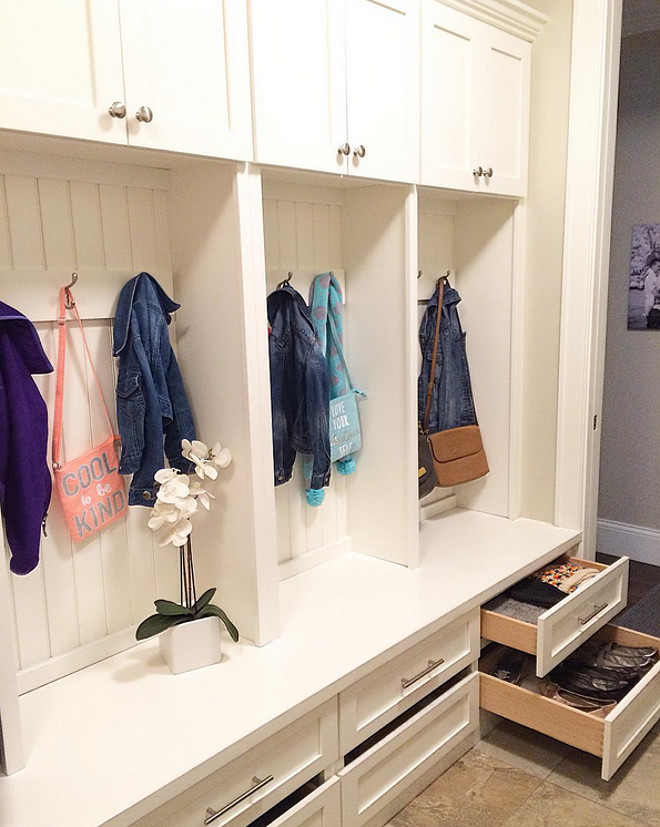 Mudroom. Mudroom cabinet. Mudroom. Mudroom #Mudroom Beautiful Homes of Instagram carolineondesign