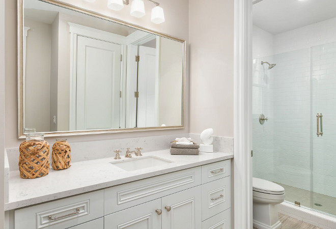 Neutral jack and jill bathroom. Neutral jack and jill bathroom with separate vanity. Neutral jack and jill bathroom #Neutraljackandjillbathroom #jackandjillbathroom #jackandjill #bathroom