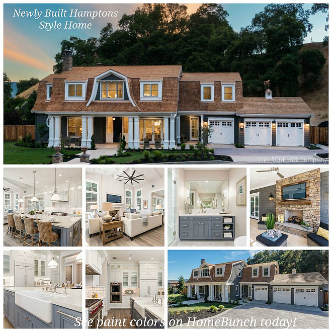 Newly Built Hamptons Style Home. Newly Built Hamptons Style Home Design and Ideas. #NewlyBuilt #HamptonsStyleHome