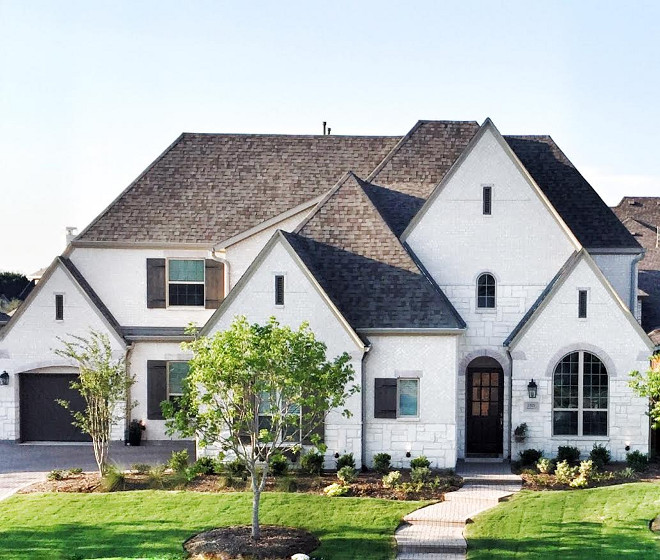 Painted Brick Outdoor Home Exterior Ideas I Have Always The Idea Of Featuring Beautiful Homes