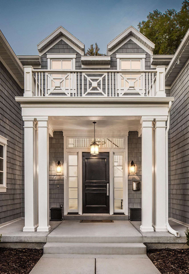 Portico railing design. Portico railing design. Custim Portico railing design. Portico railing design #Portico #railing Fox Group Construction.
