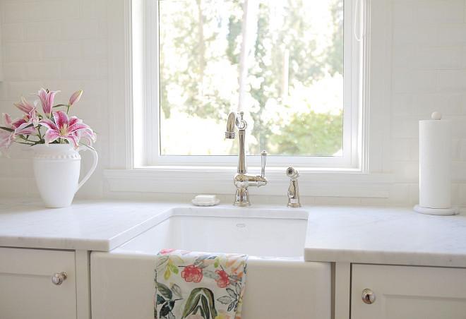 Small Farmhouse Sink. Small Kitchen Farmhouse Sink. Small Kitchen Farmhouse Sink Ideas. Small Kitchen Farmhouse Sink is by Kohler. #Small #Kitchen #Farmhouse #Sink #SmallKitchen #FarmhouseSink #SmallFarmhouseSink