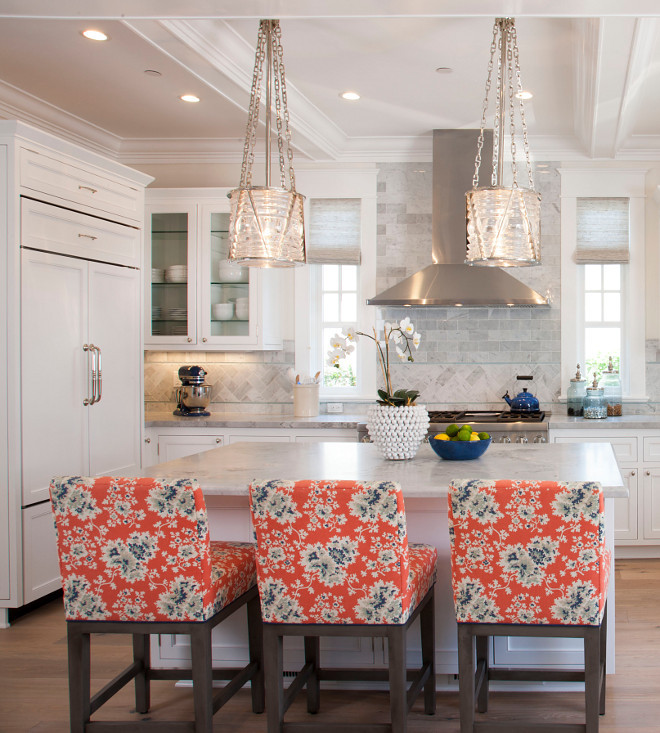 Visual Comfort Ralph Lauren Chatham Small Pendants polished nickel. Kitchen Lighting is Visual Comfort Ralph Lauren Chatham Small Pendants polished nickel. #VisualComfort #RalphLauren #ChathamPendants #lighting #polishednickel Flagg Coastal Homes
