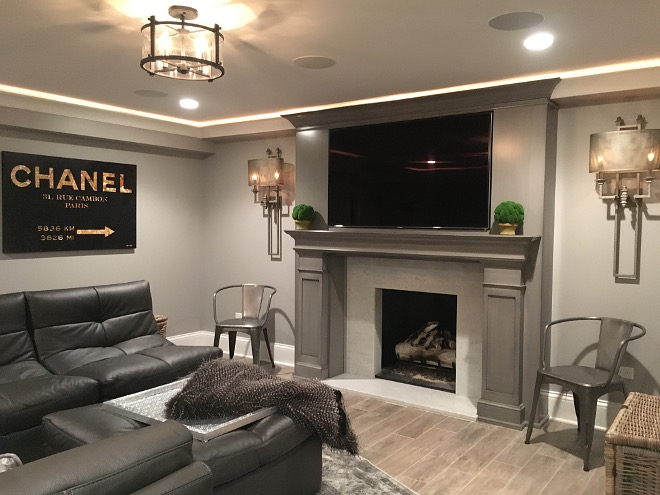 Basement lighting Beautiful Homes of Instagram Sumhouse_Sumwear