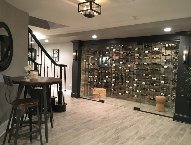 Basement wine cellar Beautiful Homes of Instagram Sumhouse_Sumwear