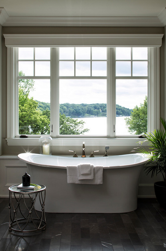 Bathroom Window. Bathroom Window Bathroom Window and trim bathroom-window-bathroom-window-trim Hendel Homes.  Vivid Interior Design - Danielle Loven.