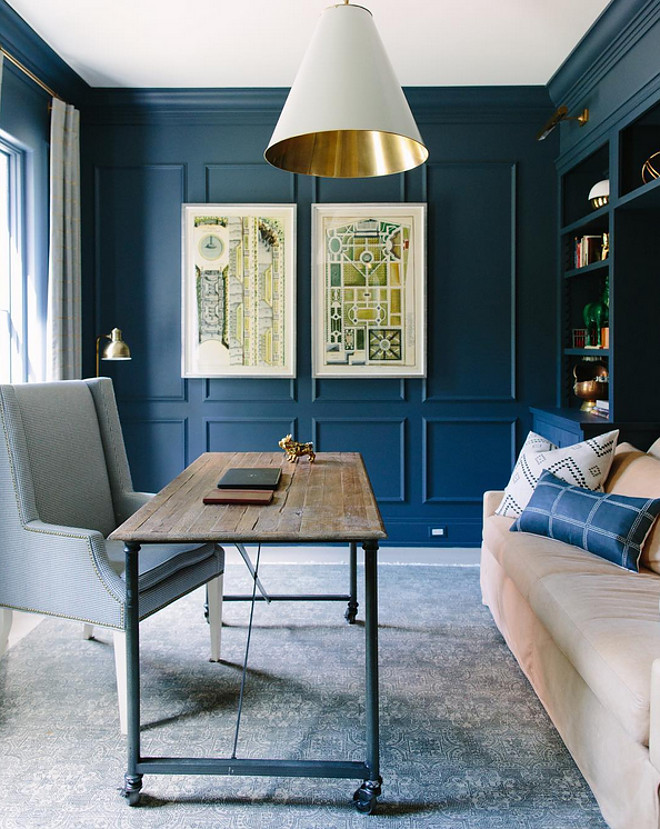 Blue Note by Benjamin Moore. Blue Note by Benjamin Moore. Blue Note by Benjamin Moore Paint Color #BlueNotebyBenjaminMoore blue-note-by-benjamin-moore Kate Marker Interiors
