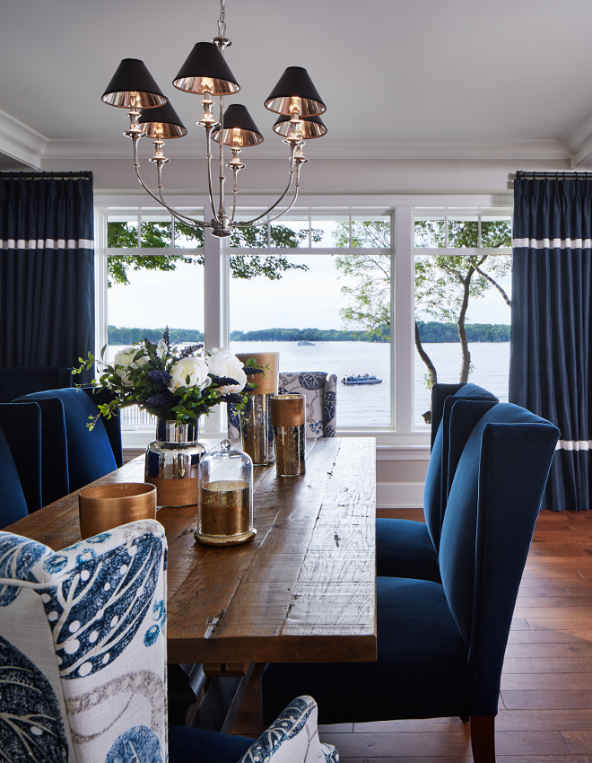 Luxurious Lakeside Cottage With Timeless Coastal Interiors
