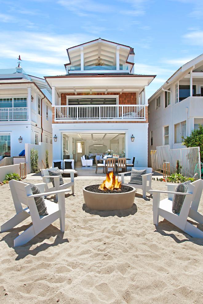 California Beach House Backyard Ideas