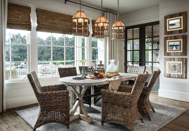 Casual Dining Coastal Farmhouse Style. Casual Dining Coastal Farmhouse Style.  Casual Dining. Beautifully Designed By Outrageous Interiors And With ...