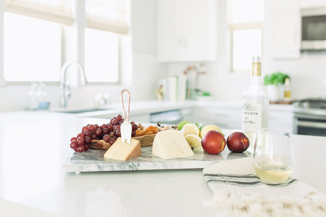 Notice the lovely marble cheese tray. cheese-marble-tray-new-popular-kitchen-items-how-to-display-cheese-on-a-marble-tray-cheese-marble-tray-cheesemarbletray-marbletray-pure-salt-interiors