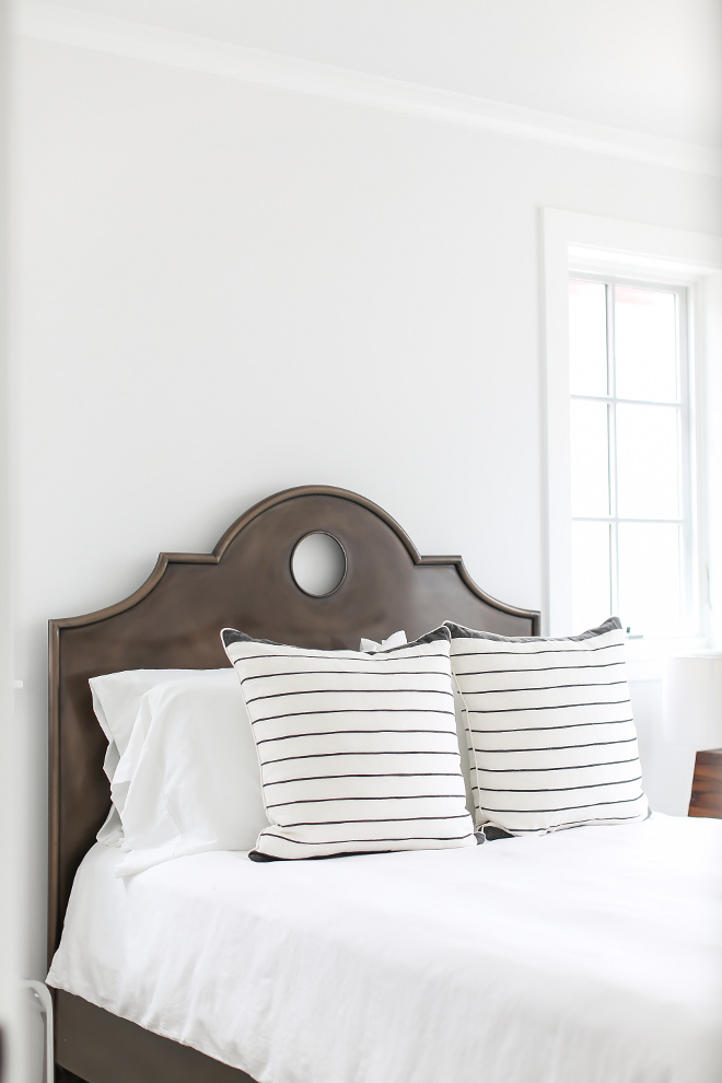 Decorators White Bedroom. Benjamin Moore Decorators White. White bedroom paint color Benjamin Moore Decorators White #BenjaminMooreDecoratorsWhite Winkle Custom Homes. Melissa Morgan Design. Ryan Garvin Photography