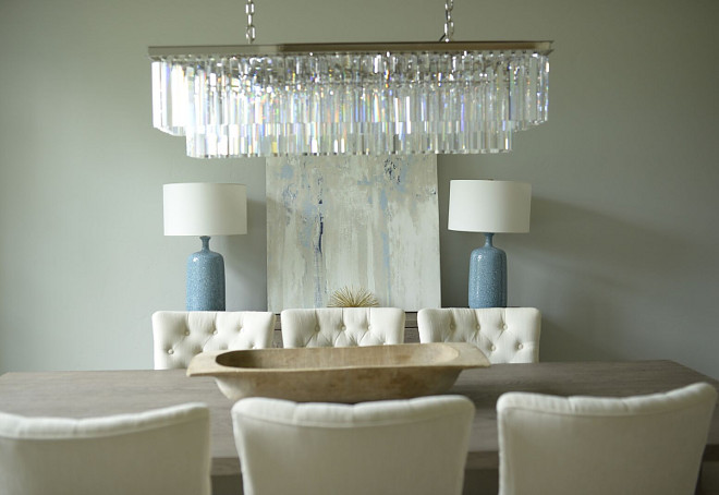 Linear Dining Room Lighting Restoration Hardware 1920 S Odeon Clear Gl Rectangular Fringe Chandelier Polished Nickel