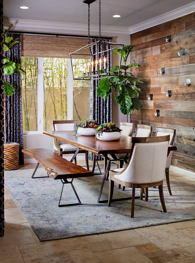 Dining room reclaimed wood wall accent. Dining room reclaimed wood wall accent ideas. Dining room reclaimed wood wall accent #Diningroom #reclaimedwood #wallaccent #reclaimedwoodwall #reclaimedwoodideas dining-room-reclaimed-wood-wall-accent Tracy Lynn Studio