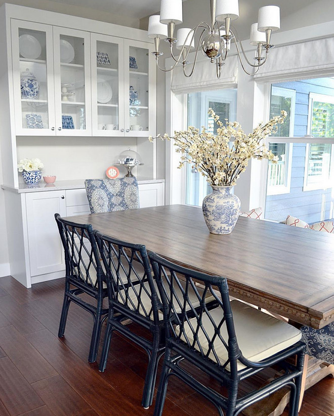 Dining room. Beautiful dining room with built in hutch cabinet. Dining room. Beautiful dining room with built in hutch cabinet ideas. Dining room. Beautiful dining room with built in hutch cabinet #Diningroom #Beautifuldiningroom #builtin #hutchcabinet Sita Montgomery Interiors