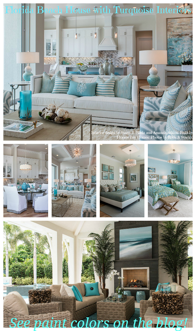 New interior design ideas paint colors for your home for Beach interior decorating ideas
