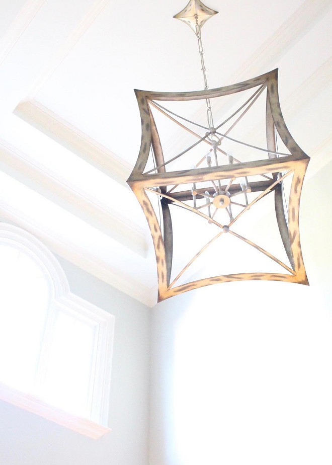 An airy lantern adds a special touch to this foyer. Lantern is by Fine Arts. foyer-lantern-foyer-lantern-foyer-lantern-ideas-foyerlantern-foyer-lantern Home Bunch Beautiful Homes of Instagram bluegraygal