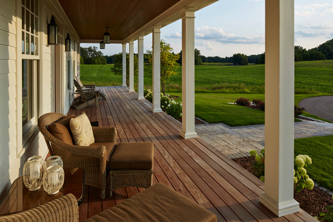 "Porch Dimensions. Front Porch Dimensions. The porch is porch is 50' long. The porch columns are 6"" wide. #porch #porchd front-porch-dimensions #porchdimensions PorchDimensions #Porch #Dimensions Hendel Homes"
