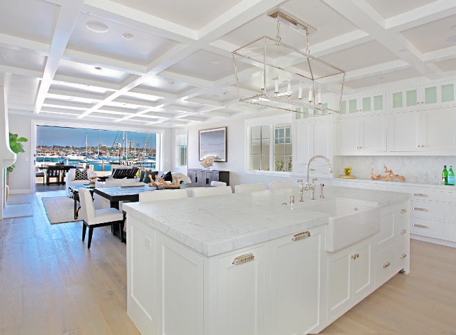 "Kitchen Island. Kitchen island dimensions. Island is 12'6"" long by 36"" wide. kitchen island dimension #kitchenIsland #Island #dimensions #long #wide Winkle Custom Homes. Melissa Morgan Design. Ryan Garvin Photography"