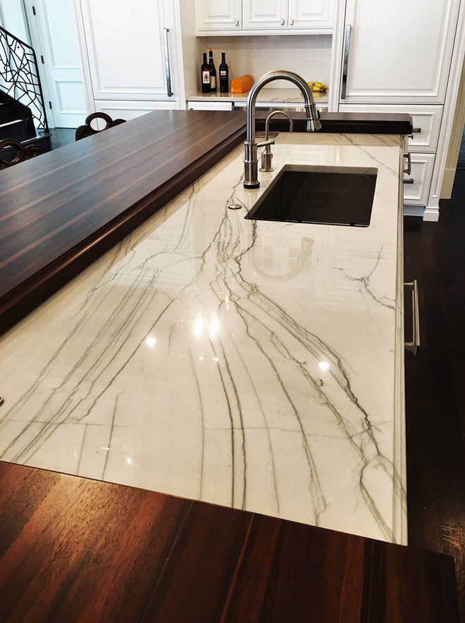 Island Countertop Combination. Island Countertop Combination. Island Countertop Combination #IslandCountertop #IslandCountertopCombination kitchen-island-countertop-luxe-kitchens-interiors  Luxe Kitchens & Interiors