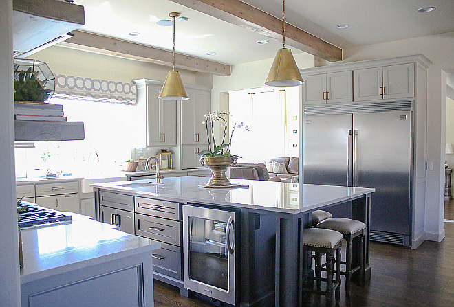 Kitchen Layout. Kitchen Layout. Kitchen Layout #KitchenLayout kitchen-layout Home Bunch's Beautiful Homes of Instagram curlsandcashmere