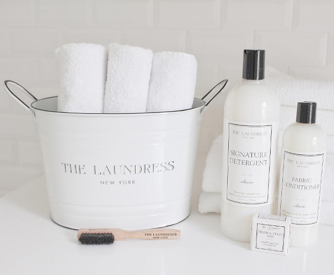 Laundry room products The Laundress. The Laundress Products #TheLaundress laundry-room-products JShomedesign via Instagram.