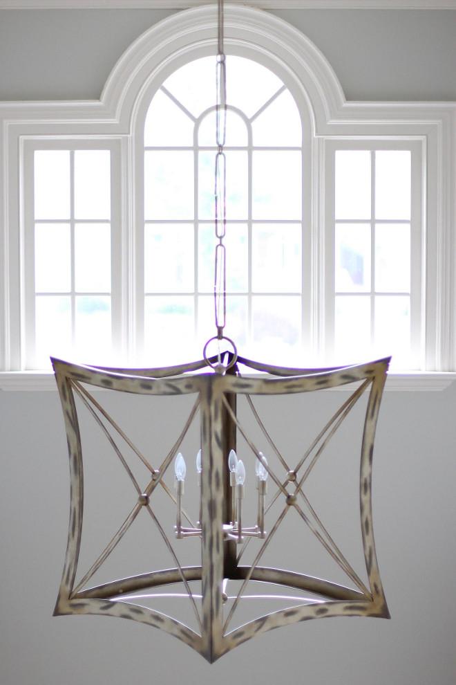 Fine Art Lamps 446340ST Portobello Road Platinized Silver Pendant.