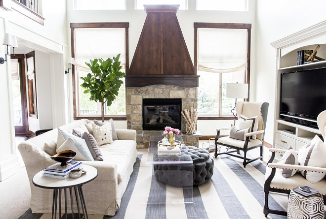 Living room. Living room. Media cabinet in formal living room Living room. Living room #Livingroom LIV Design Collective
