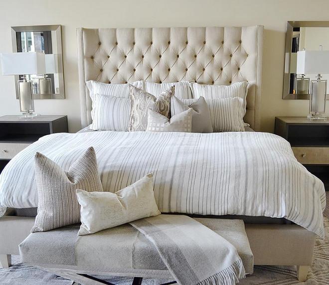 Neutral Bedroom. Neutral Bedroom Bedding. Neutral Bedroom Decor. Neutral Bedroom Paint Color. Neutral Bedroom #NeutralBedroom #bedroom #Neutralbedrooms Sita Montgomery Interiors.