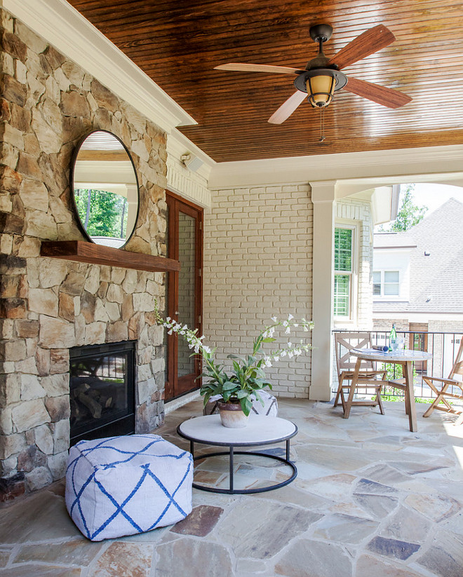 Patio Fireplace. Patio Fireplace and flagstone flooring. Patio Fireplace. Patio Fireplace and flagstone flooring #PatioFireplace #Patio #Fireplace #flagstoneflooring #patioflooring patio-fireplace Lisa Sherry Interieurs (Home Design & Decor Magazine)
