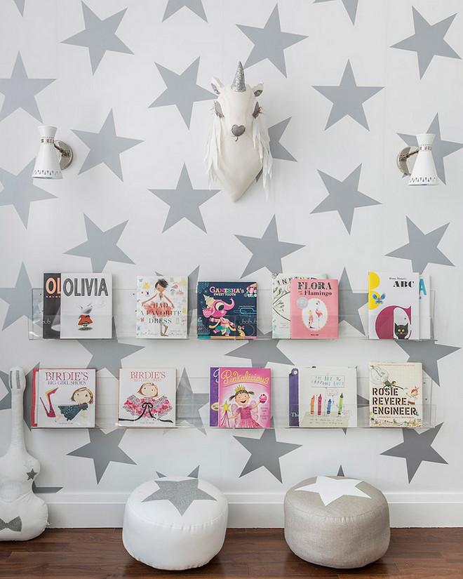 Playroom Bookshelves. Playroom Bookshelves are from Ubabub. Acrylic Playroom Bookshelves. #Playroom #Bookshelves #Acrylicbookshelves Sissy+Marley