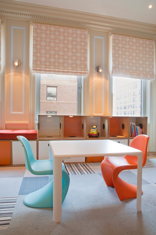 Playroom drawing table. Modern Playroom drawing table. Playroom drawing table #Playroom #drawingtable Lily Z Design Inc
