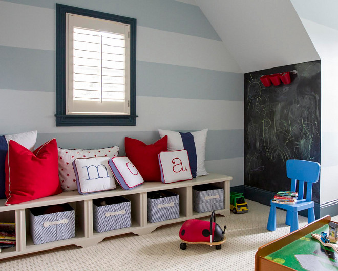 playroom-striped-wall-paint-color-playroom-stripedwall-paintcolor-home-bunch-beautiful-homes-of-instagram-bluegraygal