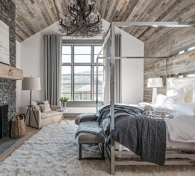 reclaimed-wood-ceiling-bedroom-with-reclaimed-wood-on-ceiling-and-accent-wall Locati Architects.