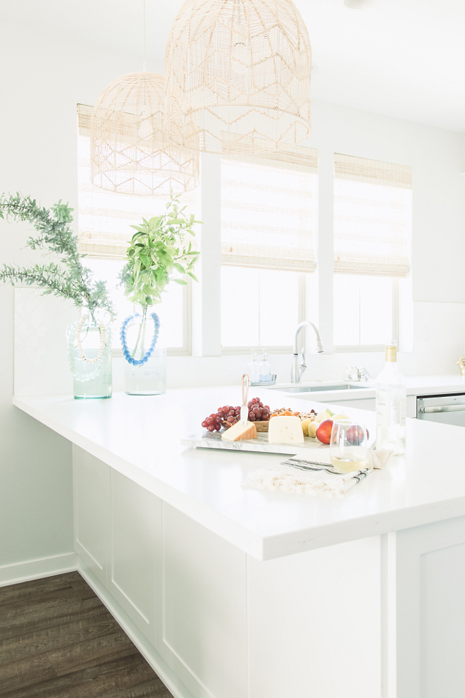 Countertop is thick engineered white quartz. Thick engineered white quartz ideas. thick-white-quartz-countertop-kitchen-with-thick-white-quartz-countertop-kitchen-pensinsula-thick-white-quartz-countertop-thickquartz-thickwhitequartz-whitequartz-countertop