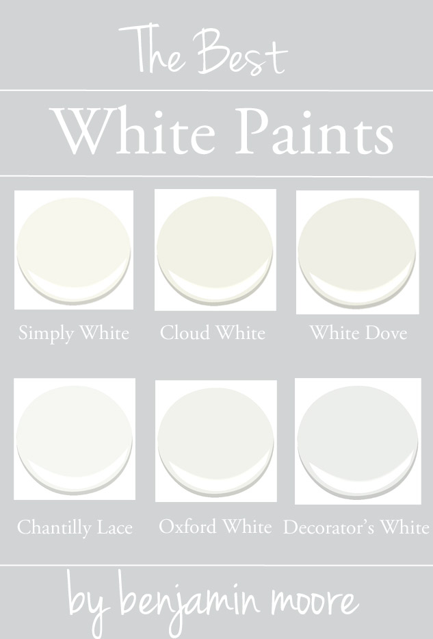 White Paint By Benjamin Moore Best Colors Simply