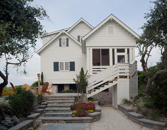 white-exteiror-beach-house-paragon-custom-construction-llc