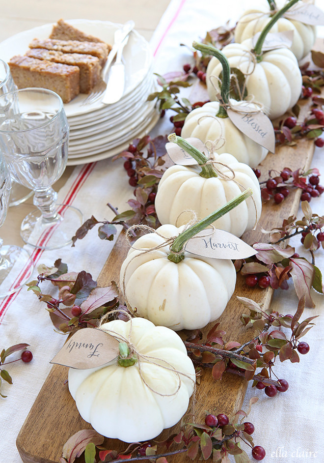 white-pumpkin-place-holders-ella-claire-inspired