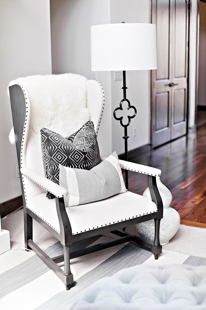 Restoration Hardware wingback chair. Rustic Restoration Hardware wingback chair. Restoration Hardware wingback chair #RestorationHardware #wingbackchair wingback-chair LIV Design Collective