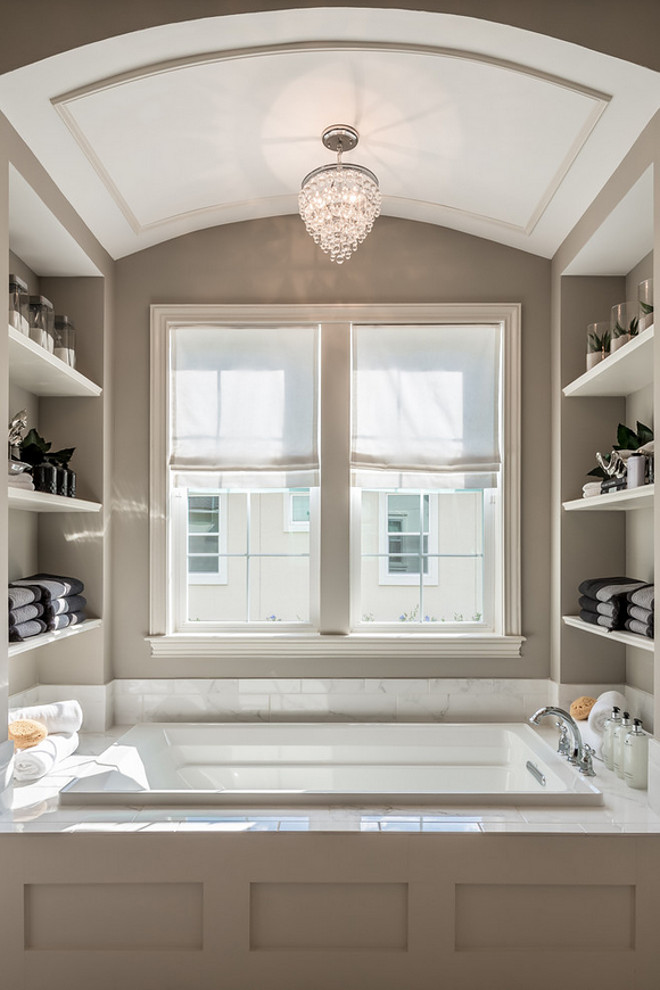 Bath Nook with open shelves for storage. Bath Nook with open shelves for storage. Bath Nook with open shelves for storage ideas #BathNook #openshelves #storage bath-nook-with-open-shelves-for-storage Cottage Home Company